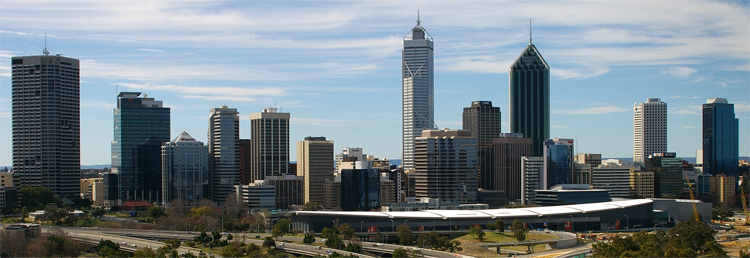 Perth CBD Viewed from Kings Park