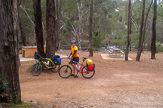 Starting the Kep Track at John Forrest NP