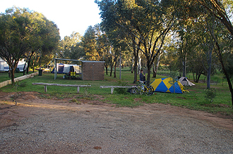 Camping in Northam