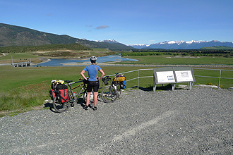 The control gates on the Upper Waiau River.