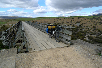 Rail Trail to Ranfurly.