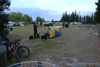 Camping in Ranfurly.