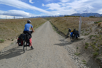 Highest Point of Central Otago Rail Trail.
