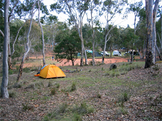 National Parks campsite.