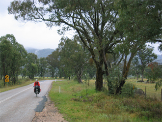 On our way from Mudgee to Rylstone.