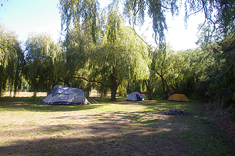 Camping in New Norfolk